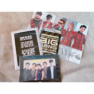 ビッグバン(BIGBANG)の美品★BIGBANG ファンクラブ特典バースデー+クリスマスカードセット(男性タレント)