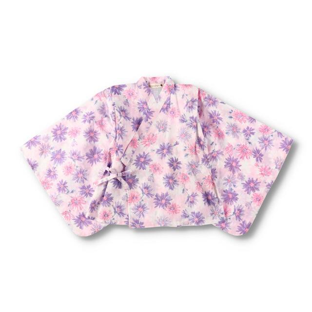 Branshes(ブランシェス)のブランシェス 女の子 セパレート浴衣 ドレス浴衣 2way 130 浴衣 キッズ/ベビー/マタニティのキッズ服女の子用(90cm~)(甚平/浴衣)の商品写真
