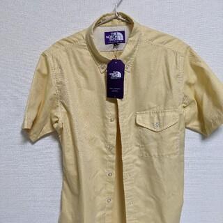 THE NORTH FACE - 未使用新品 ノースフェイスパープルレーベル 半袖シャツ