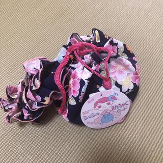 ニシマツヤ(西松屋)の西松屋 巾着、シュシュセット 新品未使用!(その他)