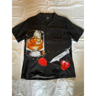 STUSSY - Stussy cocktail rayon s/s shirt black