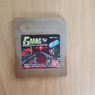 ゲームボーイ(ゲームボーイ)のゲームボーイ ジーアームズオペレーションガンダム ジャンク品 GARMS(家庭用ゲームソフト)