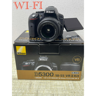 Nikon - NiKON ニコンD5300レンズキットWi-fi搭載