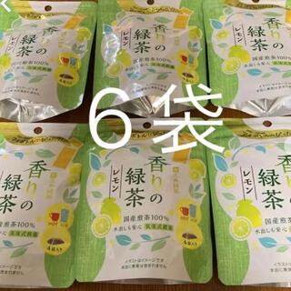 三井銘茶 ティーバッグ 香りの緑茶レモン 6袋