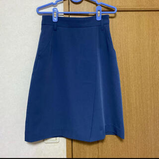 PROPORTION BODY DRESSING - ブルー スカート PROPORTION BODY DRESSING