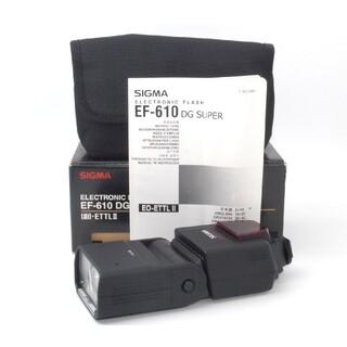 シグマ(SIGMA)のキヤノン用ストロボ★SIGMA EF-610 DG SUPER★(ストロボ/照明)