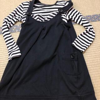ニシマツヤ(西松屋)の授乳服 ワンピース(マタニティワンピース)