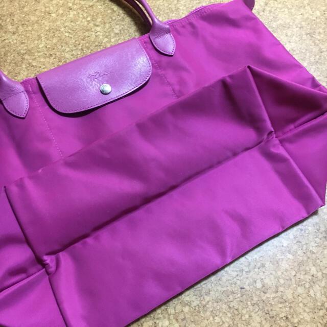 LONGCHAMP(ロンシャン)のロンシャン トートバック ダークピンク レディースのバッグ(トートバッグ)の商品写真