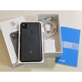 Google Pixel - 新品同様★Google Pixel 4a 128GB SIMフリー 黒