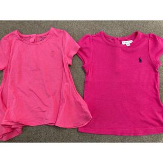 ラルフローレン(Ralph Lauren)のラルフローレン☆カットソー☆Tシャツ☆2枚セット(Tシャツ/カットソー)