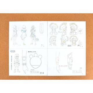 遊戯王ファイブディーズ 5D's 設定資料 制作資料 C97(その他)