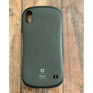 iFace iPhoneXS Max ケース グレー(iPhoneケース)