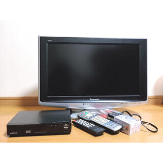 パナソニック(Panasonic)のTV&DVDプレーヤーセット(テレビ)