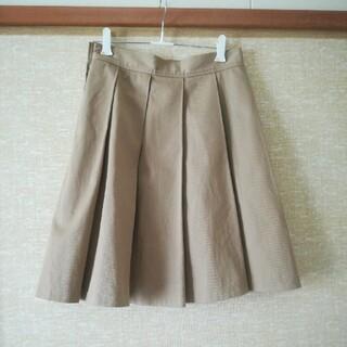 スピックアンドスパン(Spick and Span)のプリーツスカート(ひざ丈スカート)