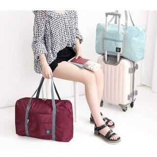 便利な折り畳み式キャリーオンバッグ(旅行用品)