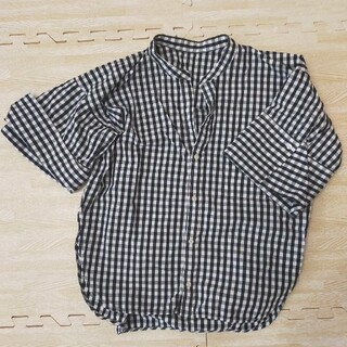 トゥモローランド(TOMORROWLAND)のマカフィー MACPHEE チェックシャツ(シャツ/ブラウス(半袖/袖なし))