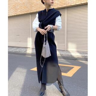 アメリヴィンテージ(Ameri VINTAGE)の新品未使用!Ameri MANY WAY DOCKING SHIRT DRESS(ロングワンピース/マキシワンピース)