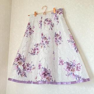 MISCH MASCH - 美品✨ミッシュマッシュ♡花柄スカート