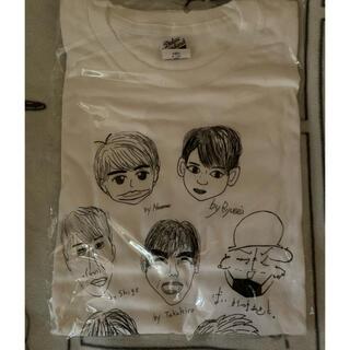 ジャニーズウエスト(ジャニーズWEST)のジャニーズWEST似顔絵Tシャツ(アイドルグッズ)