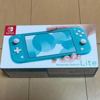 Nintendo Switch - 最終値下げ!ニンテンドースイッチライト本体  ターコイズ 中古美品☆