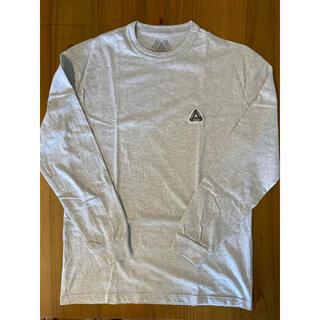 シュプリーム(Supreme)のpalace skateboards ロンT M グレー(Tシャツ/カットソー(半袖/袖なし))