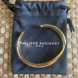 Philippe Audibert - PHILIPPE AUDIBERT ゴールド バングル 新品
