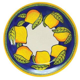 KALDI - カルディ レモン レモン柄 陶器皿 のみ ♡