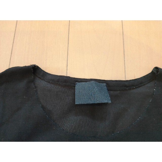 COMOLI(コモリ)の【新品未使用】山内 フリーカット強撚ポンチ半袖Tシャツ NAVY size5 メンズのトップス(Tシャツ/カットソー(半袖/袖なし))の商品写真