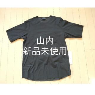 COMOLI - 【新品未使用】山内 フリーカット強撚ポンチ半袖Tシャツ NAVY size5
