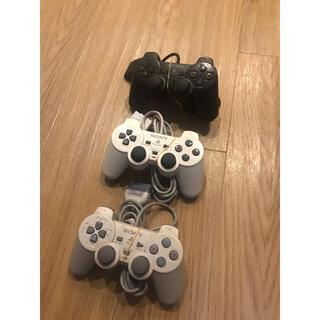 プレイステーション2(PlayStation2)のPS PS2 デュアルショック2 PS one コントローラー 計×3(その他)