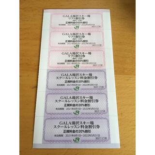 再値下げガーラ湯沢スキー場リフト割引券、スクールレッスン料金割引券(スキー場)