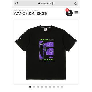 A BATHING APE - 【AAPE x EVANGELION RACING】Moon Face Tシャツ