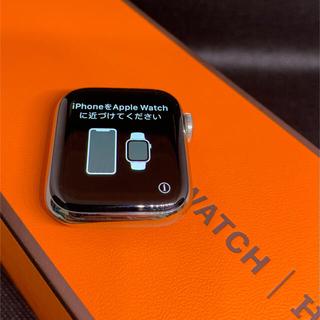 Apple - アップルウォッチ4エルメス 40MM ステンレススチール