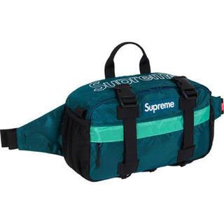 シュプリーム(Supreme)の青 Supreme Waist Bag Teal 19AW 19FW 新品(ウエストポーチ)