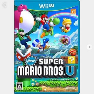 ウィーユー(Wii U)のWiiU NewスーパーマリオブラザーズU(家庭用ゲームソフト)
