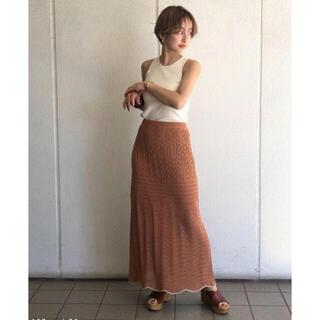 TODAYFUL - トゥデイフル レイシーニットスカート