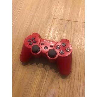 プレイステーション3(PlayStation3)のPS3 デュアルショック3 コントローラー レッド(その他)