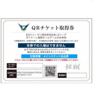 ガイナーレ鳥取 ホームゲーム チケット(サッカー)