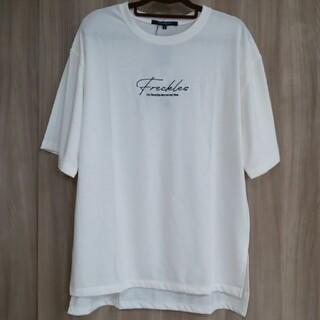 しまむら - ロゴTシャツ 五分袖 ロゴ刺繍Tシャツ チュニック 近藤千尋 プチプラのあや