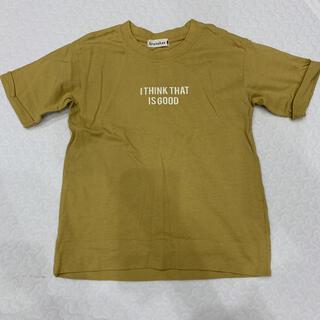 ブランシェス(Branshes)のブランシェス 半袖 Tシャツ マスタード 100cm(Tシャツ/カットソー)