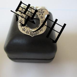 TENDERLOIN - テンダーロイン ホースシューリング 13号 ダイヤ シルバー
