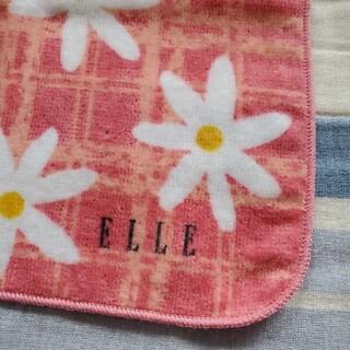 エル(ELLE)の【ELLE】タオルハンカチ(ハンカチ)