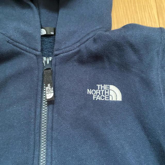 THE NORTH FACE(ザノースフェイス)のTHE NORTH FACE  リアビューフルジップフーディ 140cm キッズ/ベビー/マタニティのキッズ服男の子用(90cm~)(ジャケット/上着)の商品写真
