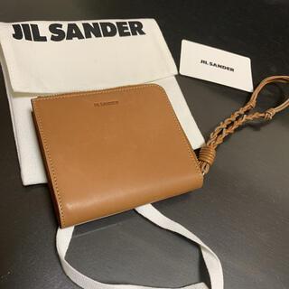 Jil Sander - 雑誌掲載!新品未使用 今年 ジルサンダー 日本限定、タングル カードケース 財布