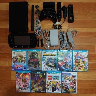 ウィーユー(Wii U)の■商品名 ニンテンドー Wii U 本体 ブラック 32GB WUP-101(家庭用ゲーム機本体)