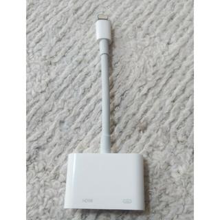 アップル(Apple)のアップル HDMI接続 ケーブル(その他)
