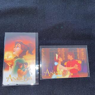 ディズニー(Disney)のアナスタシア テレフォンカード2枚組(その他)