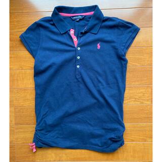 ラルフローレン(Ralph Lauren)のラルフローレン 半袖ポロシャツ 150cm 紺色(Tシャツ/カットソー)