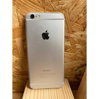 ソフトバンク(Softbank)のiPhone 6 本体 Silver 16 GB ソフトバンク(スマートフォン本体)