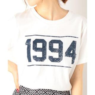 アルシーヴ(archives)のアルシーヴ archives ナンバリングプリント Tシャツ オフホワイト M(Tシャツ(半袖/袖なし))